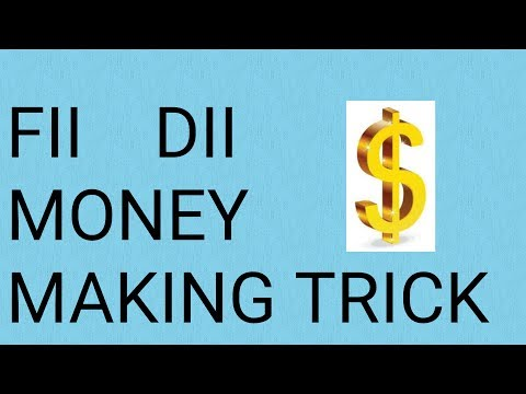How FII DII make money from your trades in stock market