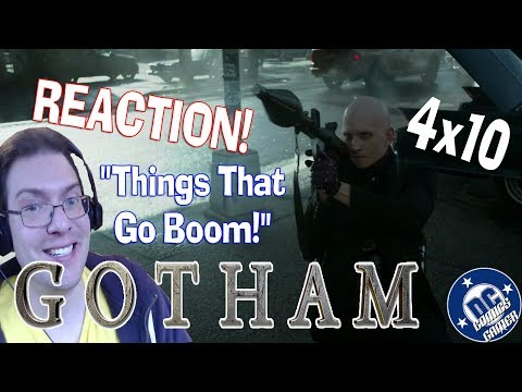 Gotham 4x10 Things That Go Boom REACTION & REVIEW!