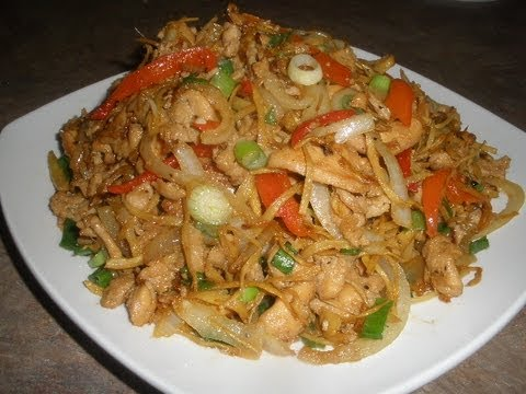 Stir-fry Crab with Ginger and Scallions (Cua Xao Gung H... | Doovi