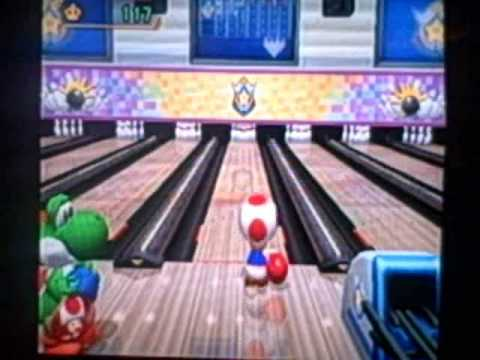 mario party 8 star carnival bowling part i youtube
