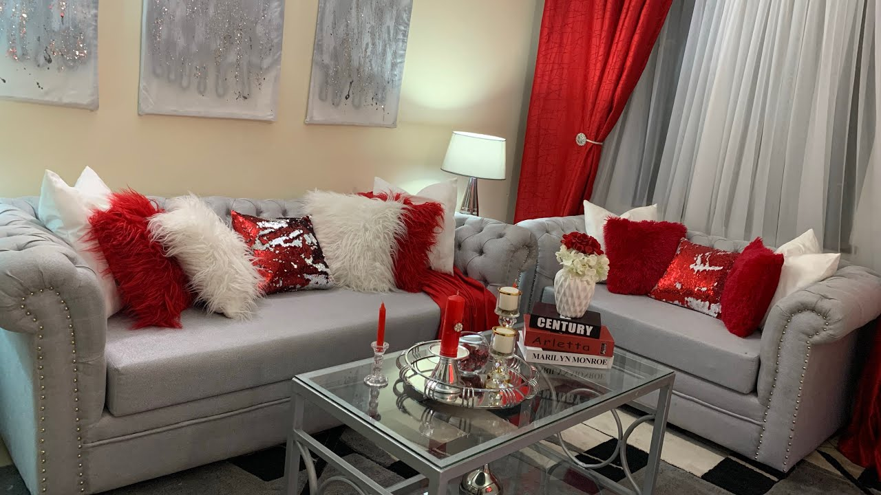 5 Superb Red And White Living Room Decor Ideas