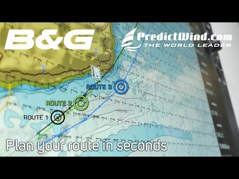 B&G PredictWind Walkthrough on Zeus3
