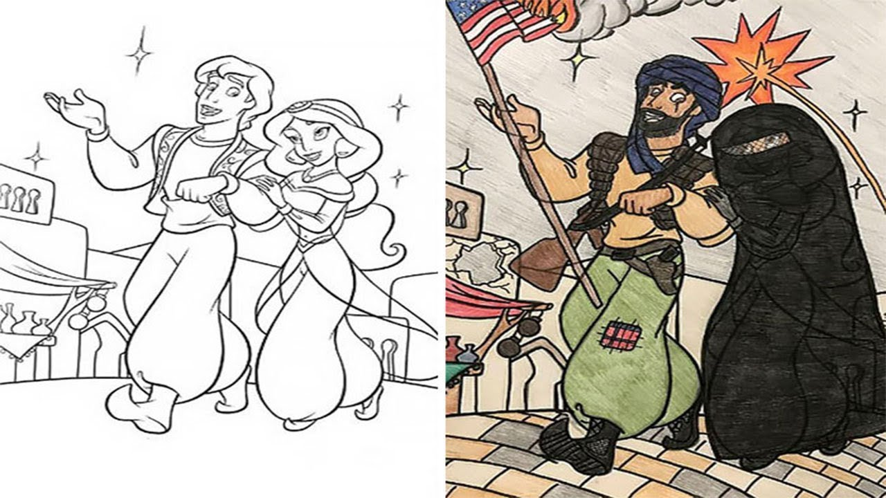 Adults Did Coloring Books For Kids And The Result Was