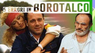 TOP 5 ERRORI NEL FILM BOROTALCO - CLASSIFICA CARLO VERDONE - COMMEDIA CULT ANNI 80