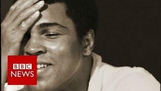 Poignant Muhammad Ali images by his personal photographer - BBC News