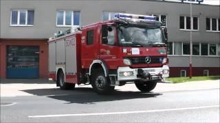Straż pożarna: Wyjazd alarmowy GBA z JRG Puławy