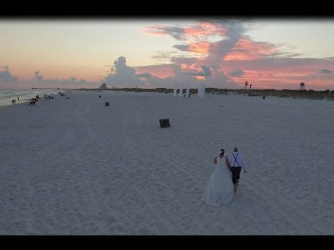 Jeff and Amanda's Wedding in 360°, Beach Panoramic Wedding Video
