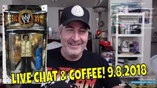SATURDAY COFFEE & CHAT! | 9.8.2018 🤓🖖☕