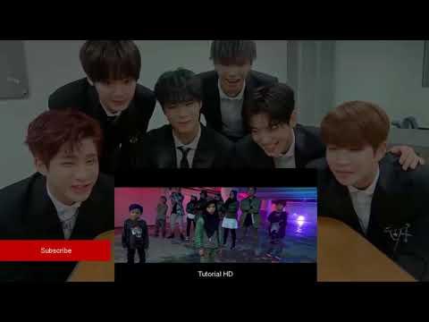 Korea REACTION (BTS(방탄소년단) - MIC Drop - Gen Halilintar (Cover) (Steve Aoki Remix) 11 KIDS+Mom )
