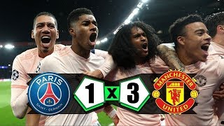 Download Video EPIC COMEBACK PSG VS MU 1:3 Agregat (3:3) MP3 3GP MP4