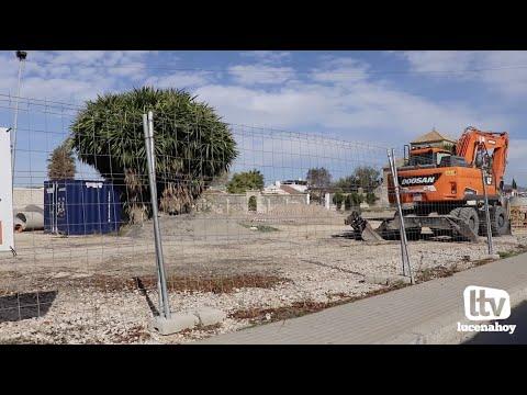 VÍDEO: El ayuntamiento de Lucena anuncia la finalización del parque de la Huerta del Carmen en marzo