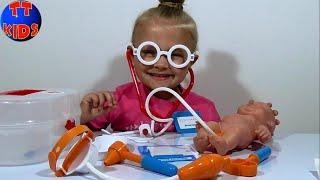 ✿ Baby Born Видео для детей Доктор Ярослава Baby Born Toy Videos Unboxing Серия 16 ✿