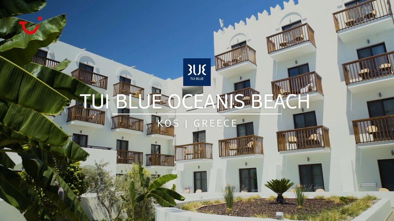 Het heeft een prachtige ligging aan. Tui Blue Oceanis Beach On Kos Adults Only Hotel Greece Youtube