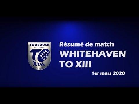 Résumé Whitehaven v TO XIII - Round 4 Championship - 01.03.2020