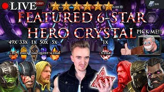 LIVE: FEATURED 6 Star Hero Crystal Opening!!! [4 Stars, a 5 Star and Much More]