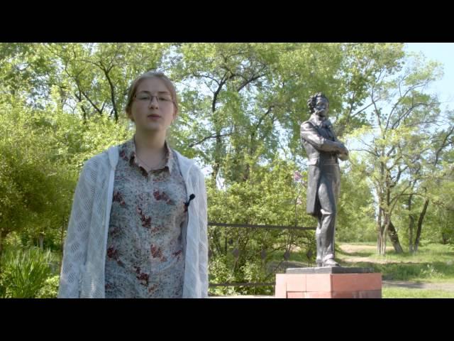 Изображение предпросмотра прочтения – АлександраПатлай читает произведение «Евгений Онегин» А.С.Пушкина