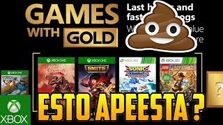 MUY MAL XBOX | JUEGOS GRATIS  GAMES WITH GOLD JUNIO 2018 XBOX 360 Y ONE