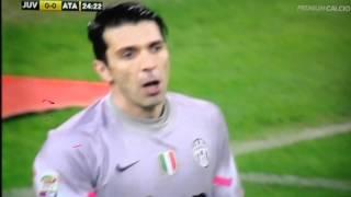 Juventus-Atalanta 2-1  Buffon bestemmia ripetutame