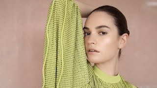 Lily James | THE LATERALS Magazine