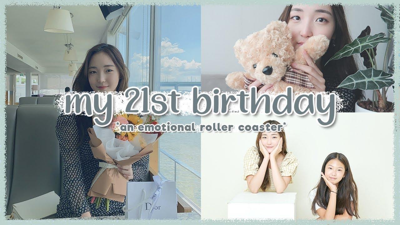 [한글/ENG] MY 21ST BIRTHDAY: meeting a fan, getting a big surprise (i cried) | KOREA VLOG | 한국 생일 브이로그