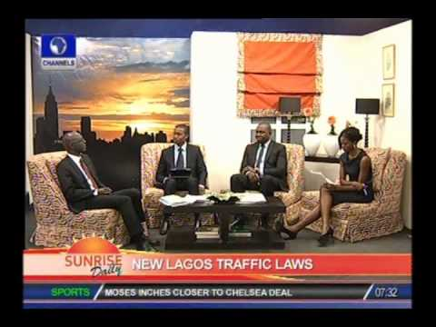 Commissioner explains new Lagos traffic law - Part 1