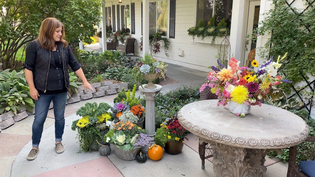 October Garden Tour Garden Answer Youtube