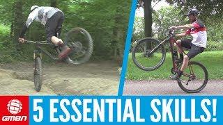 Essential Mountain Bike Skills You Can Do Anywhere!