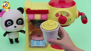 Baby Panda's Fruit Party | Smoothie, Fruit Juice | Magical Kitchenware |  Kids Toys | ToyBus thumbnail