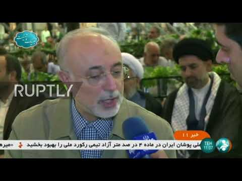 Iran: Head of Iran's nuclear agency praises cooperation with Russia