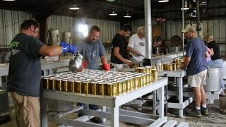 Canning Process at the Pickens County Food Processing Plant
