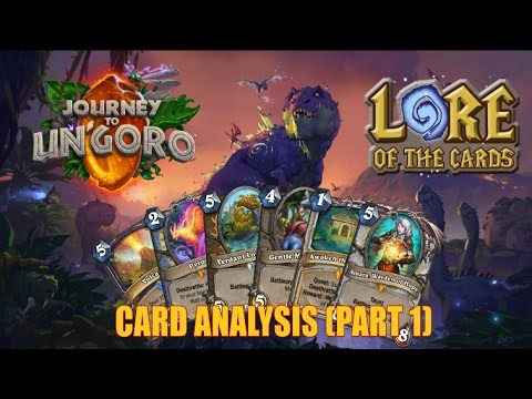 Hearthstone | Lore of the Cards | Journey to Un'Goro Card Analysis (Part 1)