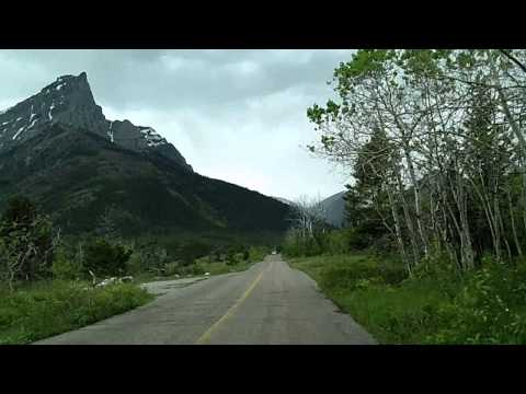 Tour of Waterton: Red Rock Parkway, Waterton Lakes National Park