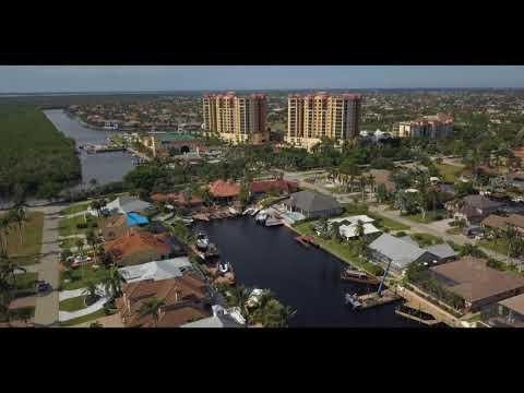 Cape Harbour Florida by drone
