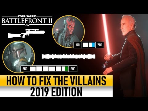 HOW TO FIX THE VILLAINS 2019! Star Wars Battlefront 2 thumbnail