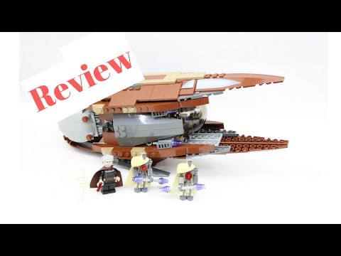 Lego Star Wars Count Dooku's Solar Sailer (7752) Review From 2009!