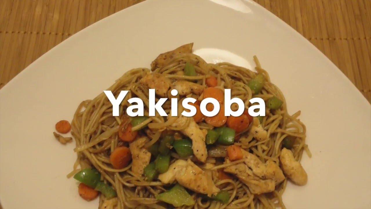 Yakisoba comida japonesa receta facil y rapida youtube Como hacer comida facil y rapida en casa