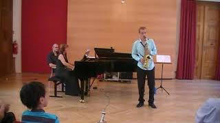 F. Decruck – Sonata in C# (second movement) | Michael Krenn & Eugenia Radoslava