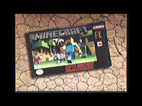 Retro Minecraft Commercial for the Super Nintendo
