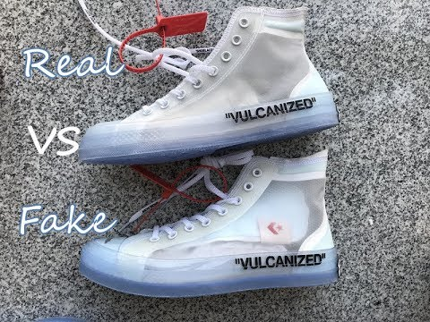 REAL VS FAKE Off White x Converse Chuck Taylor Fake Education