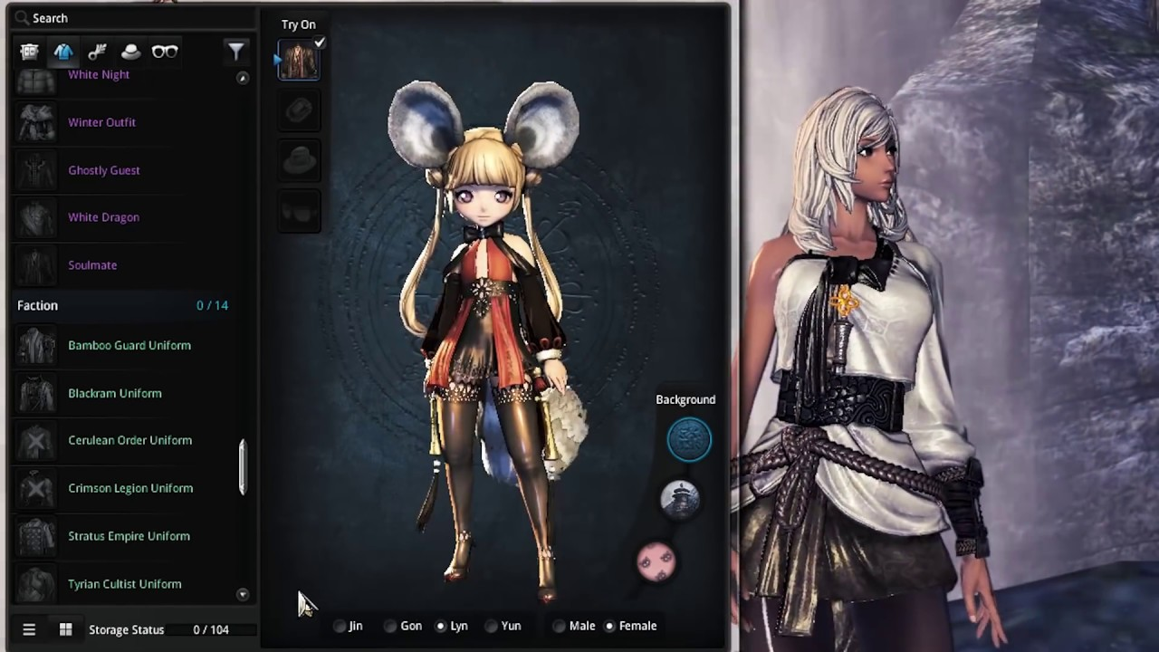 blade and soul character slots