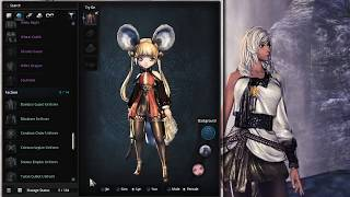 Blade and Soul NA: All Female Costumes (Uncensored)