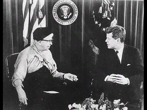 JFK AND ELEANOR ROOSEVELT DISCUSS THE PEACE CORPS (MARCH 1, 1961)