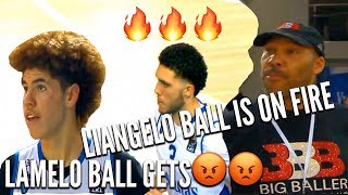 LiAngelo Ball SAVES Vytautas after LaMelo Ball Gets MAD and FOULS OUT
