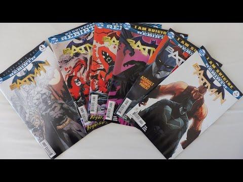 ASMR Comic Geek | Batman Rebirth Comic Books Part 2 | Whispered ASMR Ramble | Page Sounds | Tapping