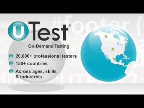 How To Test Desktop, Mobile & Web Applications - uTest Animation ...