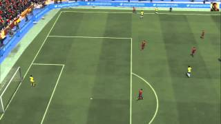 Fifa14 - España VS Brasil PS3