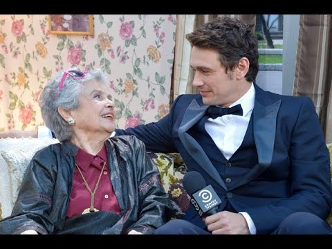 James Franco's adorable grandma was a true star