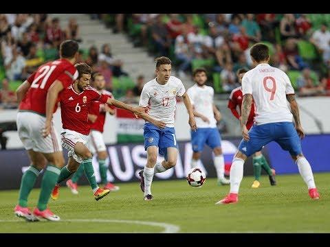 Венгрия - Россия. Товарищеский матч национальных сборных