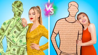 Rich vs Broke/ 12 Funny Situations