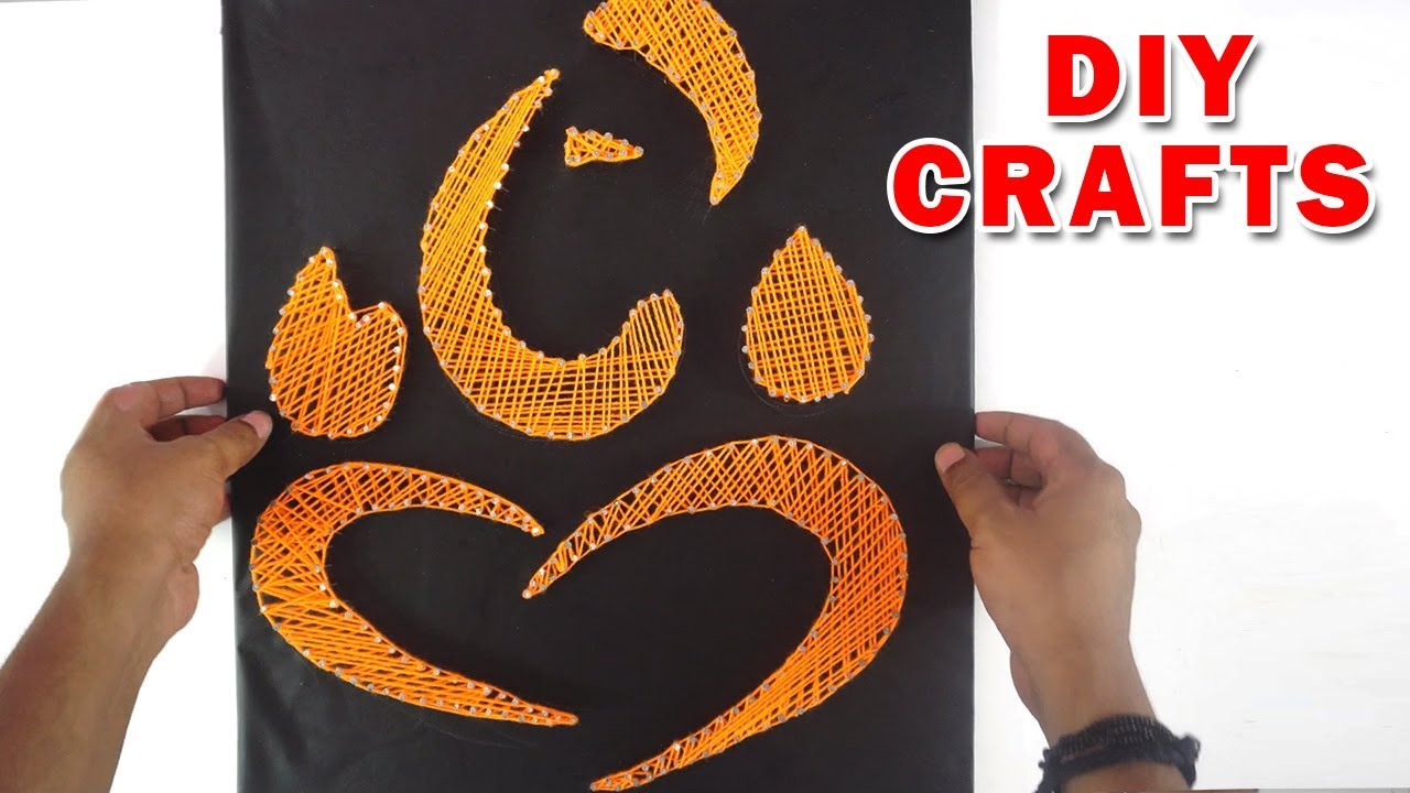 Ganesh Chaturthi Special How To Make Lord Ganesh Crafts Youtube